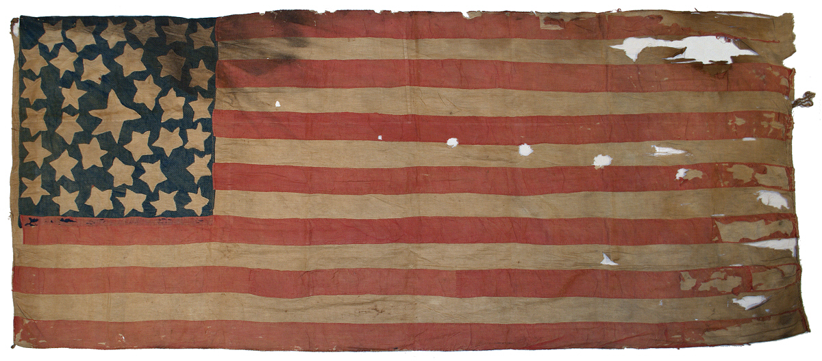 35 Star Civil War American Flag