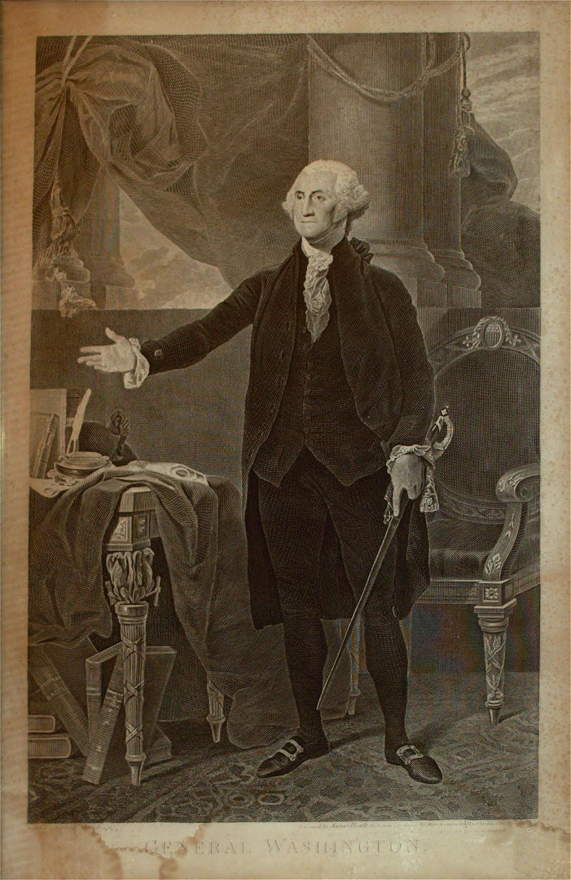 George Washington Engraving by James Heath 1800