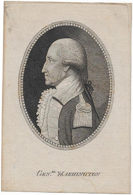 George Washington Engraving after Joseph Wright
